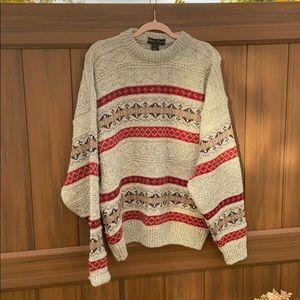 Edward Bryan England 25% Alpaca 75% wool sweater